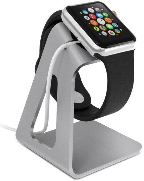 Apple Watch op lader