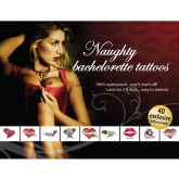 AdultBodyArt Naughty Bachelorette Tattoo Set