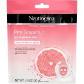 Neutrogena Hydrogel Gezichtsmasker Acne Gevoelige Huid Pink Grapefruit 30 g