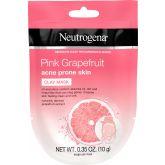 Neutrogena Klei Gezichtsmasker Acne Gevoelige Huid Pink Grapefruit 10 g