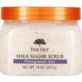Tree Hut Shea Sugar Scrub Pomegranate Acai 510 g