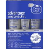 Clean & Clear Reinigingskit Advantage Acne Treatment Control Kit For Clear Skin 200 g