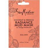 Shea Moisture Gezichtsmasker Radiance Mud Mask Kokosnoot & Hibiscus 15 ml