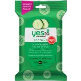Yes to Cucumber Gezichtsreinigingsdoekjes Verzachtend Hypoallergeen