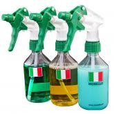 Monello Lege fles met verdeling en sprayer 250 ml 3-pack