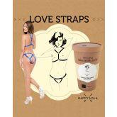Happy Lola Love Straps BlauwOne-size
