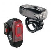 Lezyne KTV Drive/KTV Pro Smart Verlichtingsset Zwart