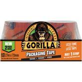 Gorilla Verpakkings Tape Refill Transparant 2 x 27 m