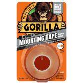 Gorilla Montage Tape Transparant 1,5 m