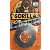 Gorilla Montage Tape Zwart 1,5 m