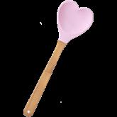 Rice Lepel Hartvormig Pink