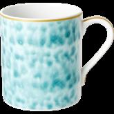 Rice Beker Porselein Glaze Print Jade