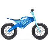 Toyz Loopfiets Enduro Hout Blauw