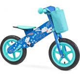 Toyz Loopfiets Zap Hout Blauw