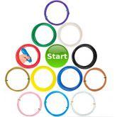 Goedkope3dpen XXL Filament Pakket Doodler Create 12 kleuren
