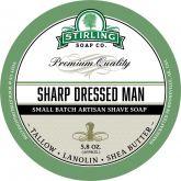Stirling Soap Company Scheerzeep Sharp Dressed Man 165 g