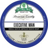 Stirling Soap Company Scheerzeep Executive Man 165 g