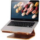 Samdi Laptop Standaard Donker Walnoot