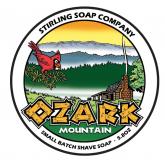 Stirling Soap Company Scheerzeep Ozark Mountain 165 g