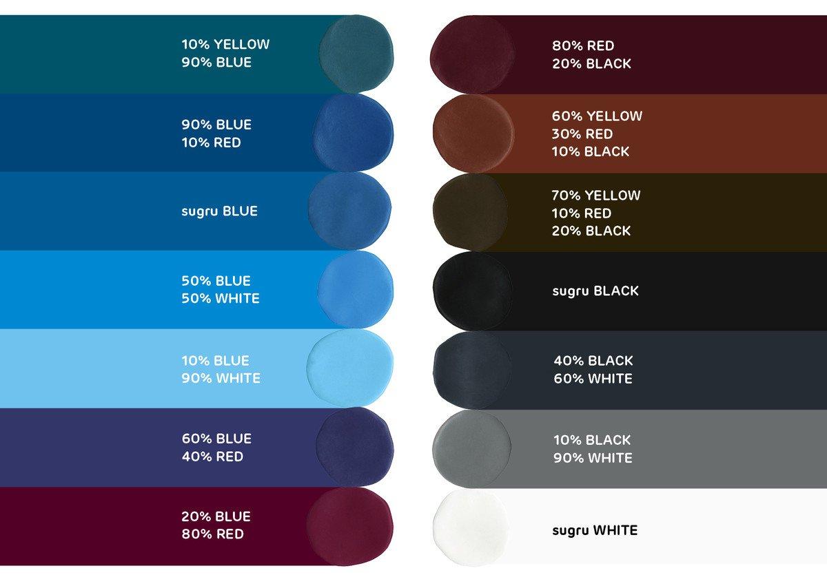 Sugru kleuren 2