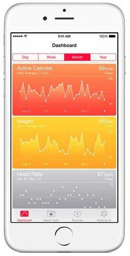 Apple sportapp